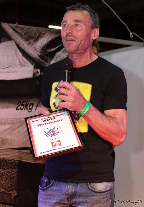 Årets Danske Bryggeri 2014 Jørgen Fogh Rasmussen