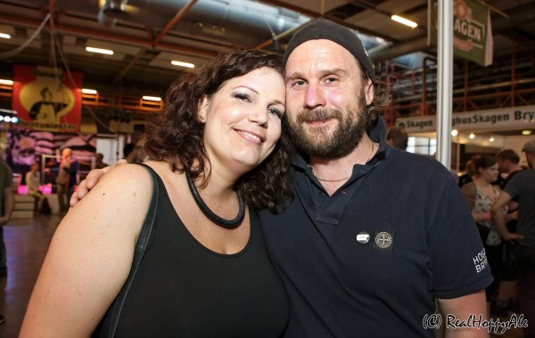 Ølfestival København 2014 Petra Öhman og Marcus Hjalmarsson