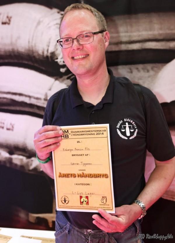 Ølfestival København 2014 håndbryg vinder