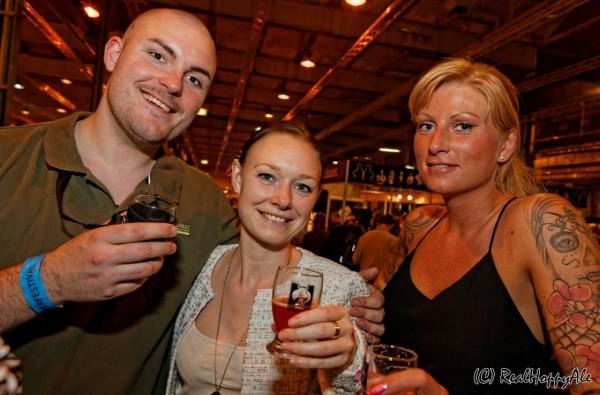 Ølfestival København 2015 gæster trio
