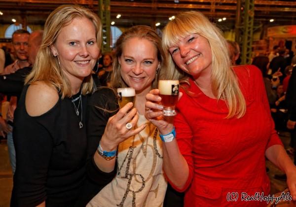 Ølfestival København 2015 kvindegruppe