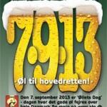 7-9-13: Øllets Dag