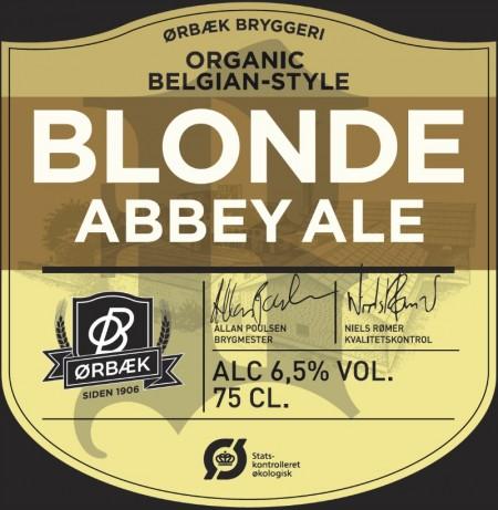 Ørbæk Bryggeri Blonde Abbey Ale
