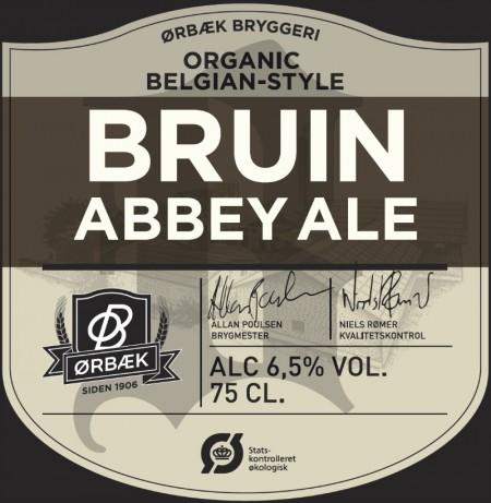 Ørbæk Bryggeri Bruin Abbey Ale