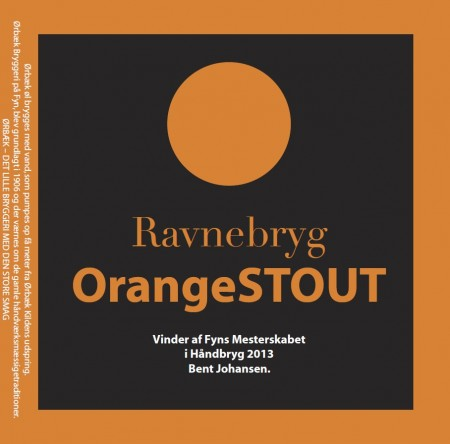 Ørbæk Bryggeri Ravnebryg OrangeStout