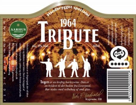 Aarhus Bryghus 1964 Tribute etiket
