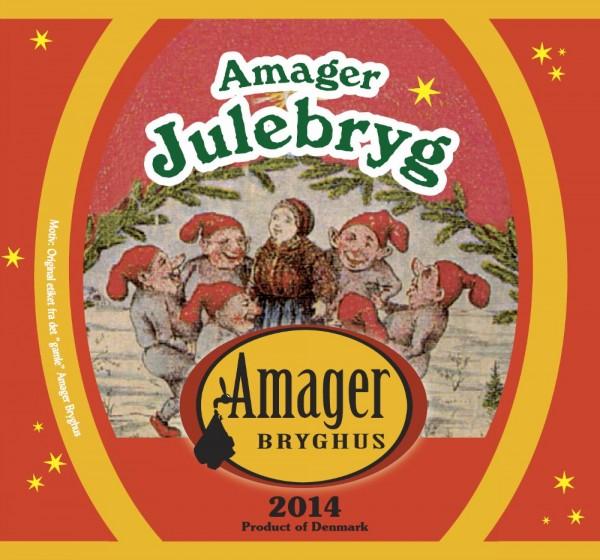 Amager Bryghus Amager Julebryg 2014