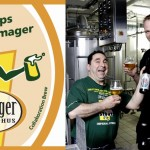 Øl på vej: Amager Bryghus/Hoppin' Frog Brewery Frog Hops To Amager