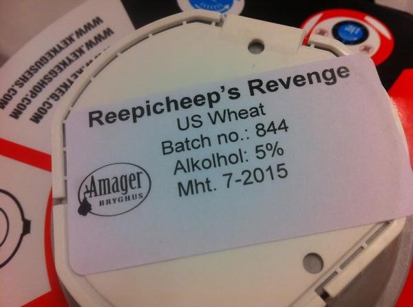 Amager Bryghus Reepicheep's Revenge