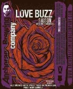 Anchorage Brewing Co. Love Buzz