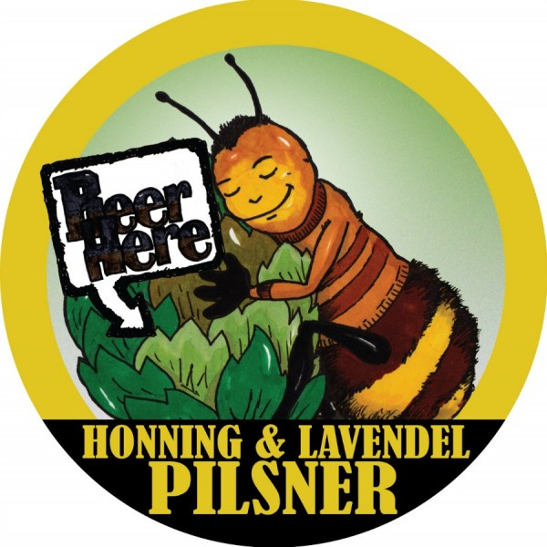 Beer Here Honning & Lavendel Pilsner