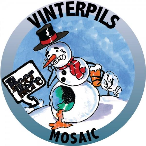 Beer Here Vinterpils Mosaic