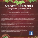 Skovlyst Open 2013 den 13. april