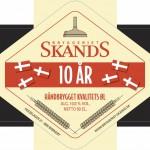 Ny øl: Bryggeriet Skands 10 År