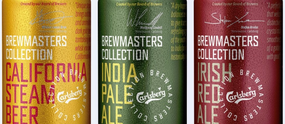 Nye øl: Carlsberg Brewmasters Collection serien