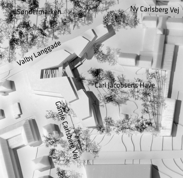 Carlsberg nyt hovedsæde model