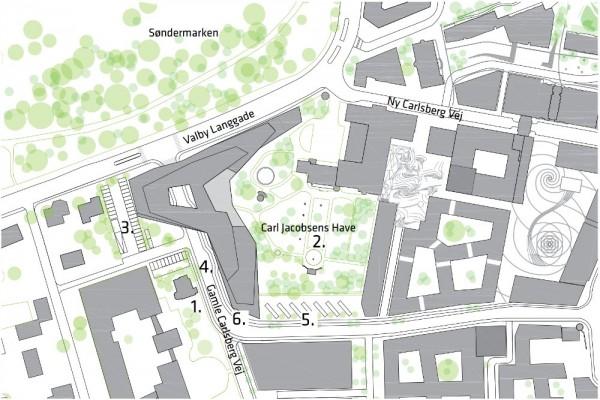 Carlsberg nyt hovedsæde plan