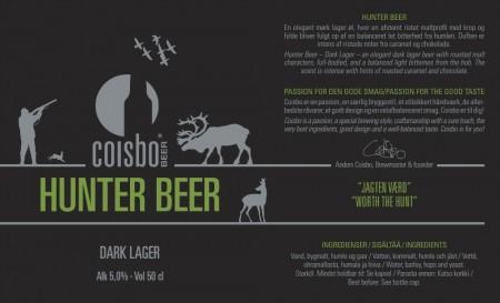 Coisbo Beer Hunter Beer