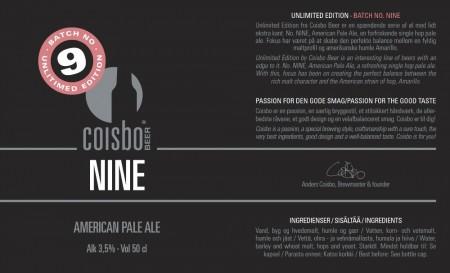Coisbo Beer Nine