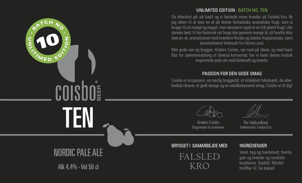 Coisbo Beer Ten