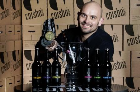 Coisbo Beer medaljehøst Irland