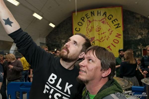 Copenhagen Beer Celebration 2014 Mikkel Borg Bjergsø og  Wayne Wambles