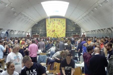 Copenhagen Beer Celebration 2014 hallen