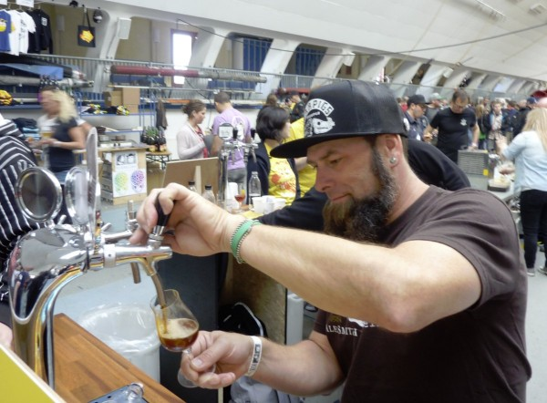 Copenhagen Beer Celebration 2015 Bill Batten AleSmith