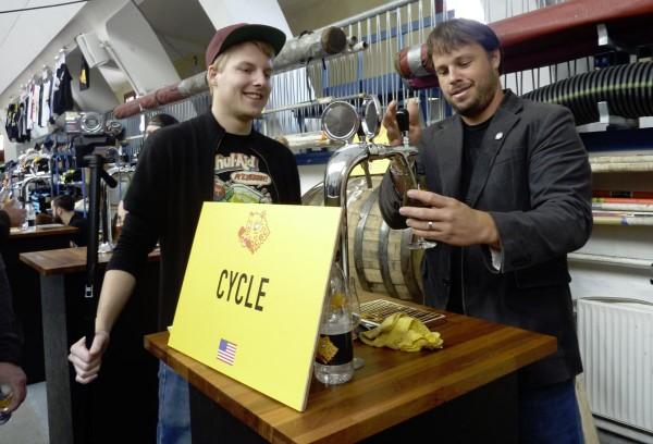 Copenhagen Beer Celebration 2015 Cycle