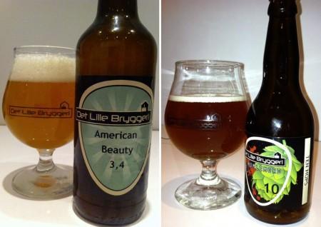 Det Lille Bryggeri American Beauty 3,4 Humlemord 10 Ten Hops