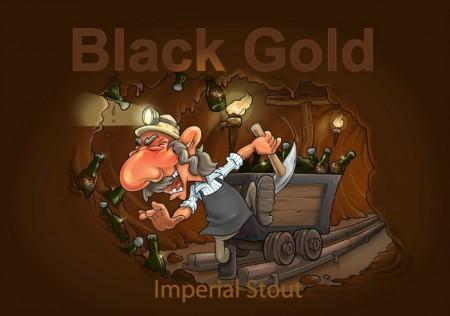 Det Lille Bryggeri Black Gold