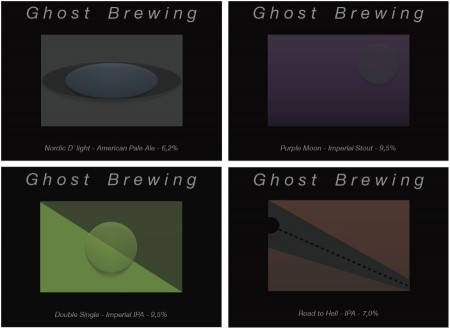 Ghost Brewing øl 2014