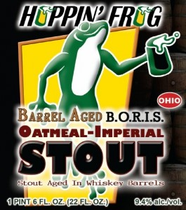 Hoppin' Frog Barrel Aged B.O.R.I.S. The Crusher