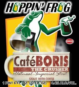Hoppin' Frog Café BORIS