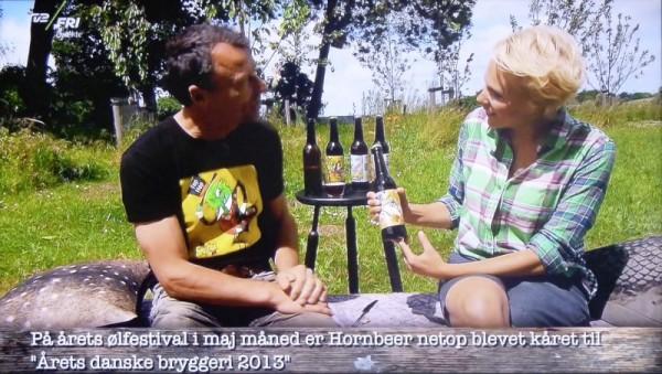 Hornbeer TV2 Fri Frihuset juni 2014