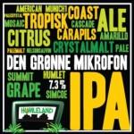 Nye øl: Humleland Den Grønne Mikrofon, Det Er Godt Nok Mørkt