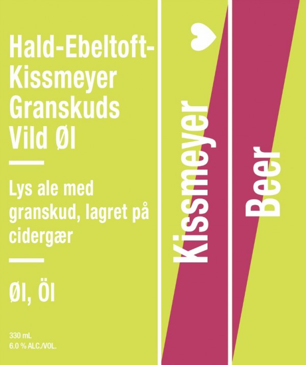 Kissmeyer Beer Hald-Ebeltoft-Kissmeyer Granskuds Vild Øl