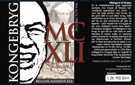 Kongebryg MCXLI Hildegard