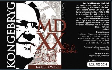 Kongebryg MDXX Det Stockholmske Blodbad