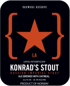 Lervig Brewers Reserve Konrad's Stout