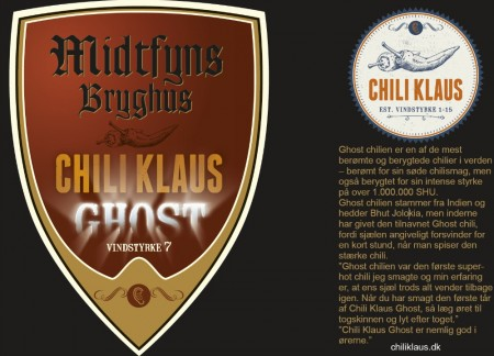 Midtfyns Bryghus Chili Klaus Ghost