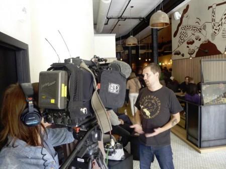 Mikkeller Bar SF BBC interview