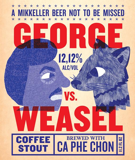Mikkeller George vs. Weasel
