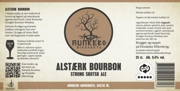 Munkebo Mikrobryg Alstærk Bourbon