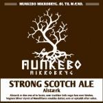Ny øl: Munkebo Mikrobryg Alstærk Strong Scotch Ale