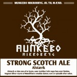 Munkebo Mikrobryg Strong Scotch Ale Alstærk