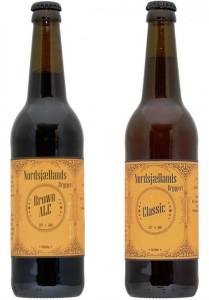 Nordsjællands Bryggeri Brown Ale og Classic