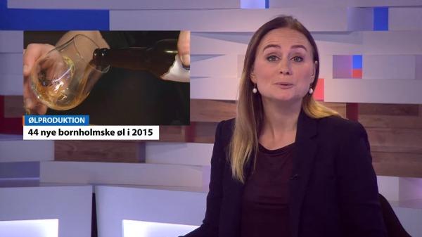 Nye danske øl 2015 TV2 Bornholm