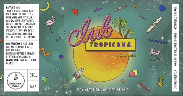 Rocket Brewing Company Club Tropicana