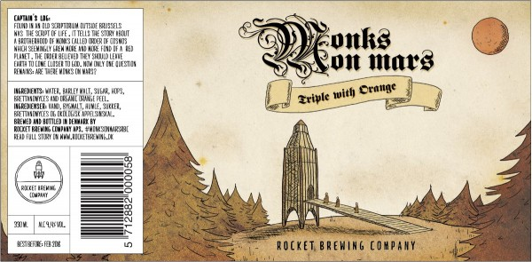 Rocket Brewing Company Monks On Mars